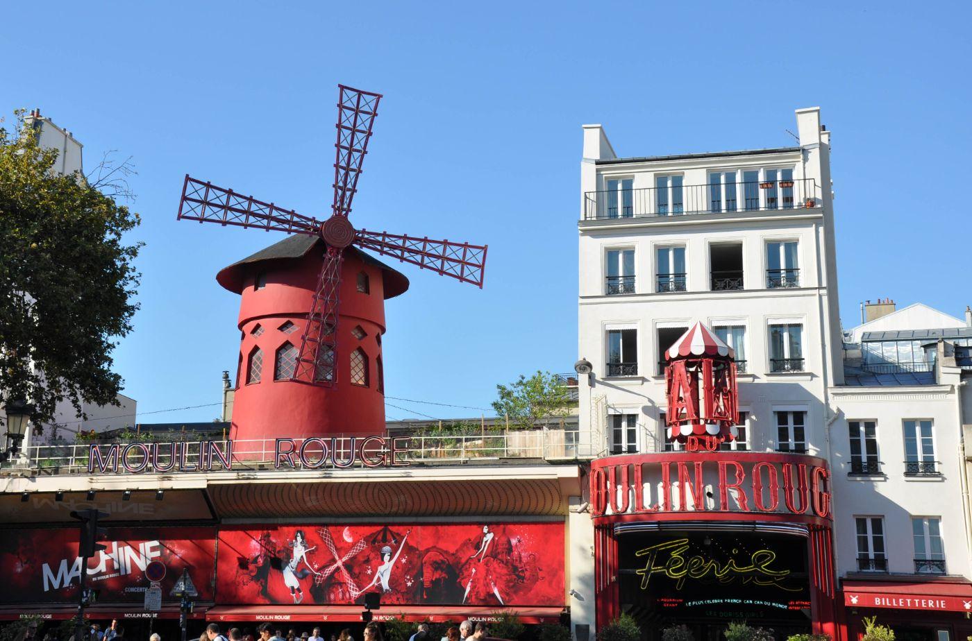 Moulin rouge - Blog La Marinière en Voyage