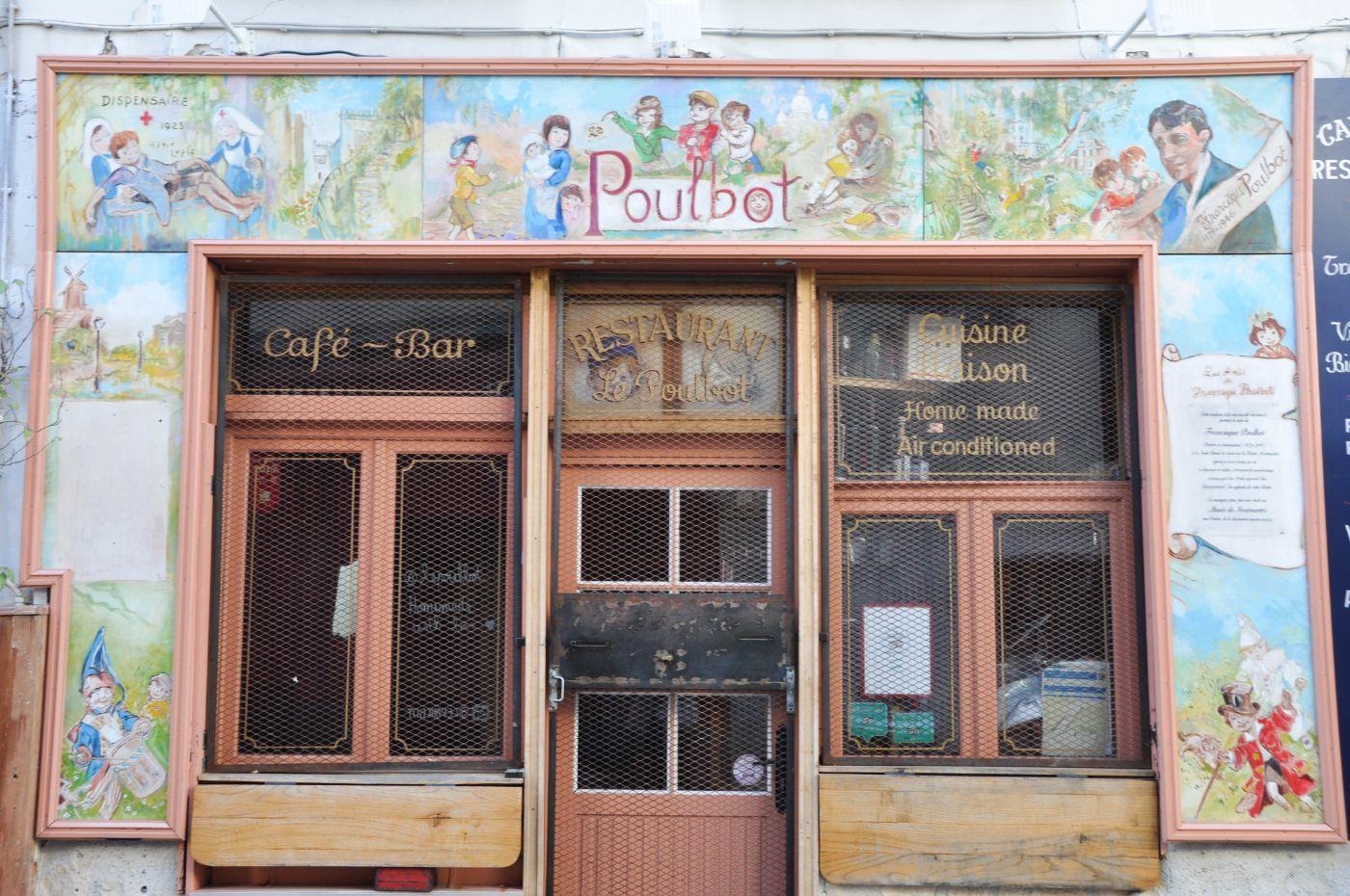 Le Poulbot à Montmartre - Blog La Marinière en Voyage