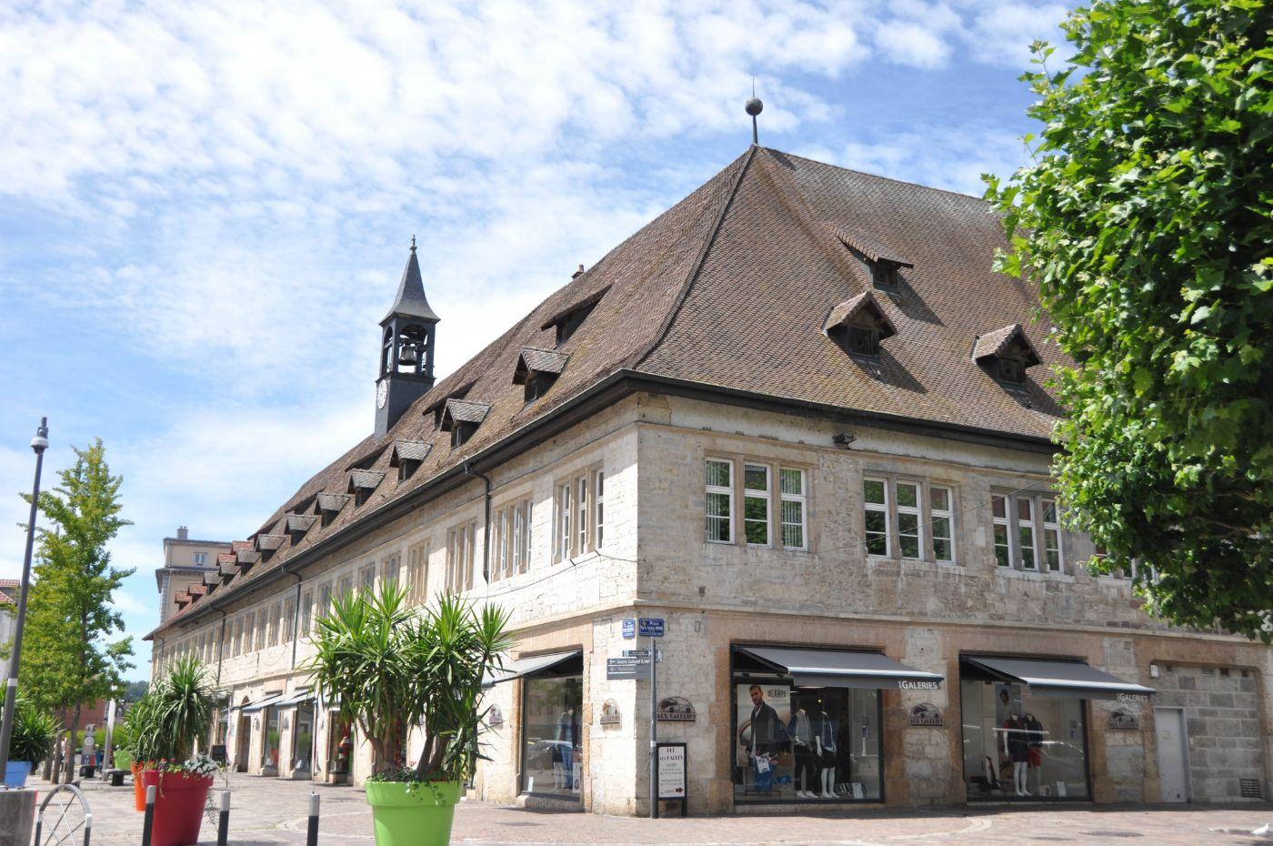 Halles de Montbéliard - blog La Marinière en Voyage